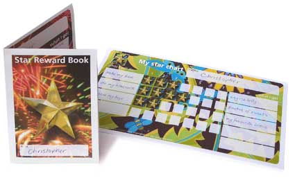 dadcando star chart booklets