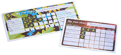 Star Chart booklets