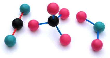 Build your own molecule making kit
