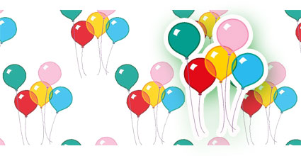 party balloon envelope