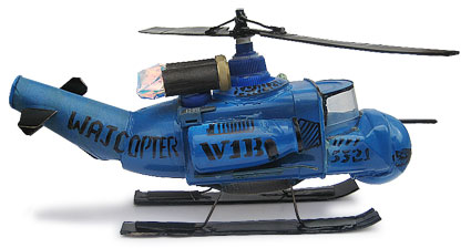 Bell Huey model helicopter
