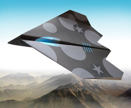 Stealth general operations paper Plane