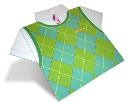 Kitsch Origami Paper Shirt
