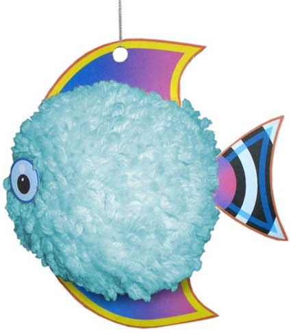 pompom tropical fish