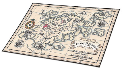make your own antique map