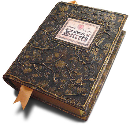 antique book with secret compartment