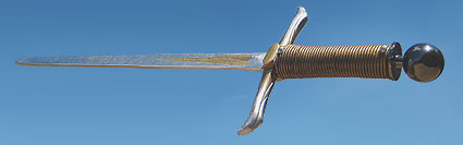 Prince Caspians Sword in air