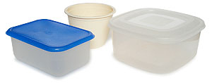 small Tupperware boxes