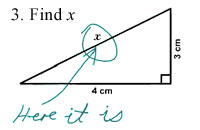 find x exam paper answer