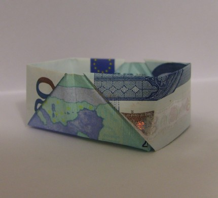 ELLEKAYE's Origami Money Box