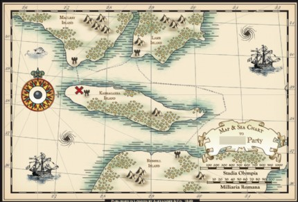 nepenthe's Design an Antique Map