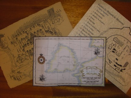 raisah's Design an Antique Map